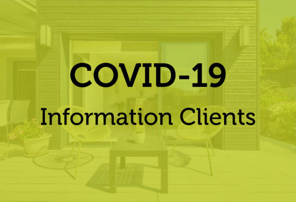 COVID-19 | Information clients